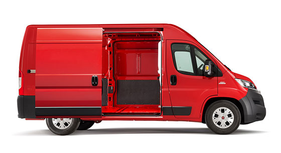 Fiat Professional Ducato Goods Transport Accessibility