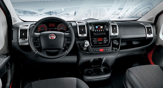 Fiat Professional Ducato Goods Transport Interior